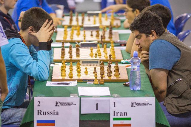 شکست شطرنج بازان ایران در دور ششم مسابقات تیمی قهرمانی جهان