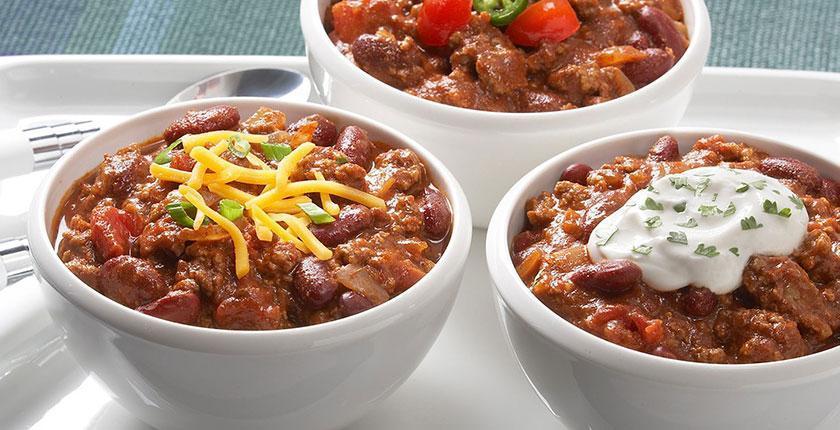 طرز تهیه خوراک لوبیا با گوشت