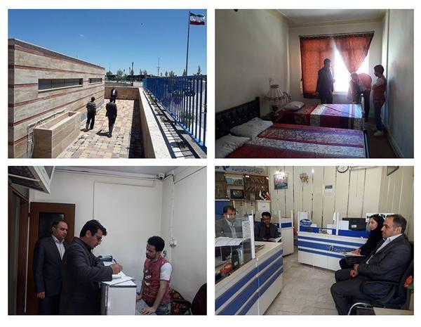 نظارت و بازرسی از مراکز اقامتی و آژانس های مسافرتی اردبیل انجام گرفت