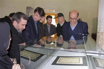افتتاح بخش نسخ خطی موزه مردم شناسی ارومیه