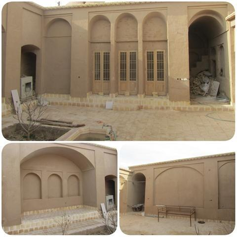 خانه ملکی حاجی آباد رستاق اشکذر مرمت شد