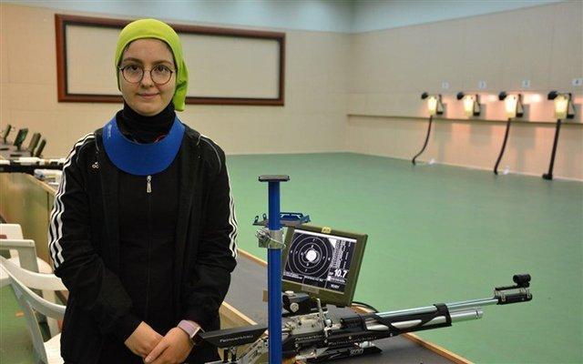 آرمینا صادقیان دومین سهمیه المپیک تیراندازی را گرفت