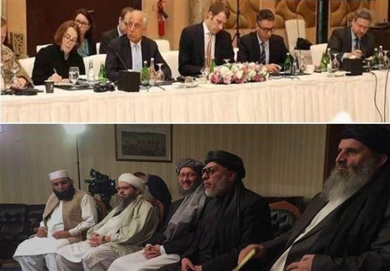 گزارش، پایان دور نهم مذاکرات آمریکا &ndash طالبان؛ ژست توافق