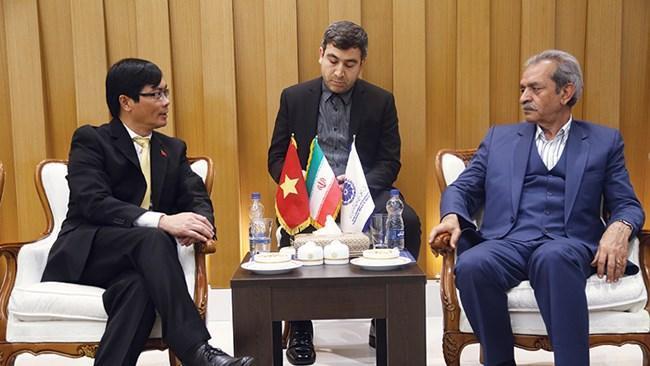 بخش های خصوصی ایران و ویتنام به دنبال تحقق اهداف مالی مشترک