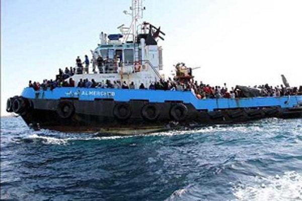 گارد ساحلی ایتالیا جان 5 هزار مهاجر را نجات داد