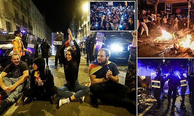 درگیرهای کاتالونیا به مادرید کشیده شد