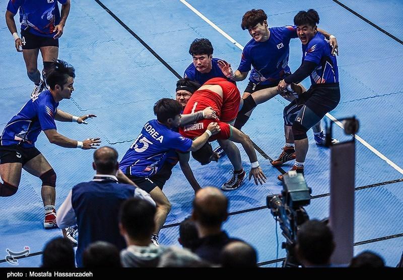گزارش خبرنگار اعزامی خبرنگاران از اندونزی، کار سخت بانوان در نخستین روز مسابقات کبدی، مصاف مردان با تیم ژاپن