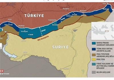 گزارش، اصلی ترین چالش های ترکیه در شرق فرات