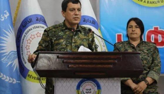 فرمانده کردهای سوریه: باید با دمشق مذاکره کنیم
