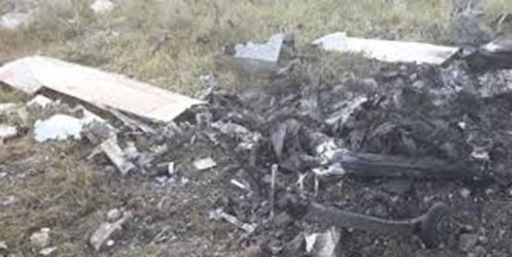 انهدام یک پهپاد جاسوسی ائتلاف سعودی در مرز یمن