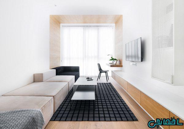 تصاویر طراحی خانه ای کوچک با ایده های بزرگ