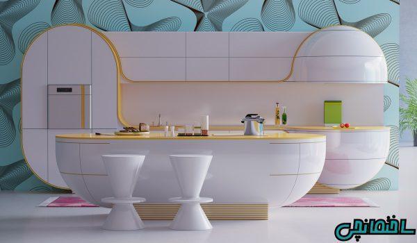15 مدل آشپزخانه صورتی و زیبایی بی نظیر آن ها