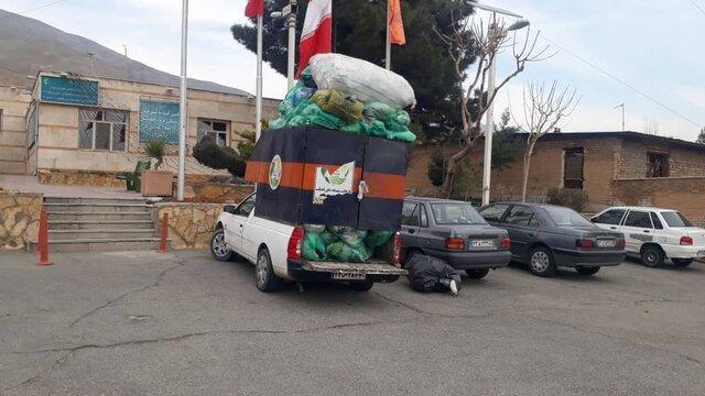 توقیف خودروی متخلف تفکیک زباله از مخازن