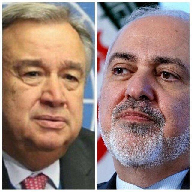 تاکید دبیرکل سازمان ملل متحد بر لزوم رفع تحریم های آمریکا علیه ملت ایران برای مبارزه با کرونا