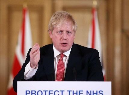 اولتیماتوم نخست وزیر انگلیس به مردم درباره قرنطینه کامل