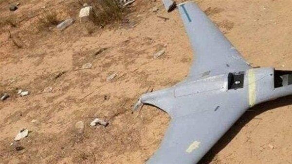 سقوط پهپاد ترکیه در شرق لیبی