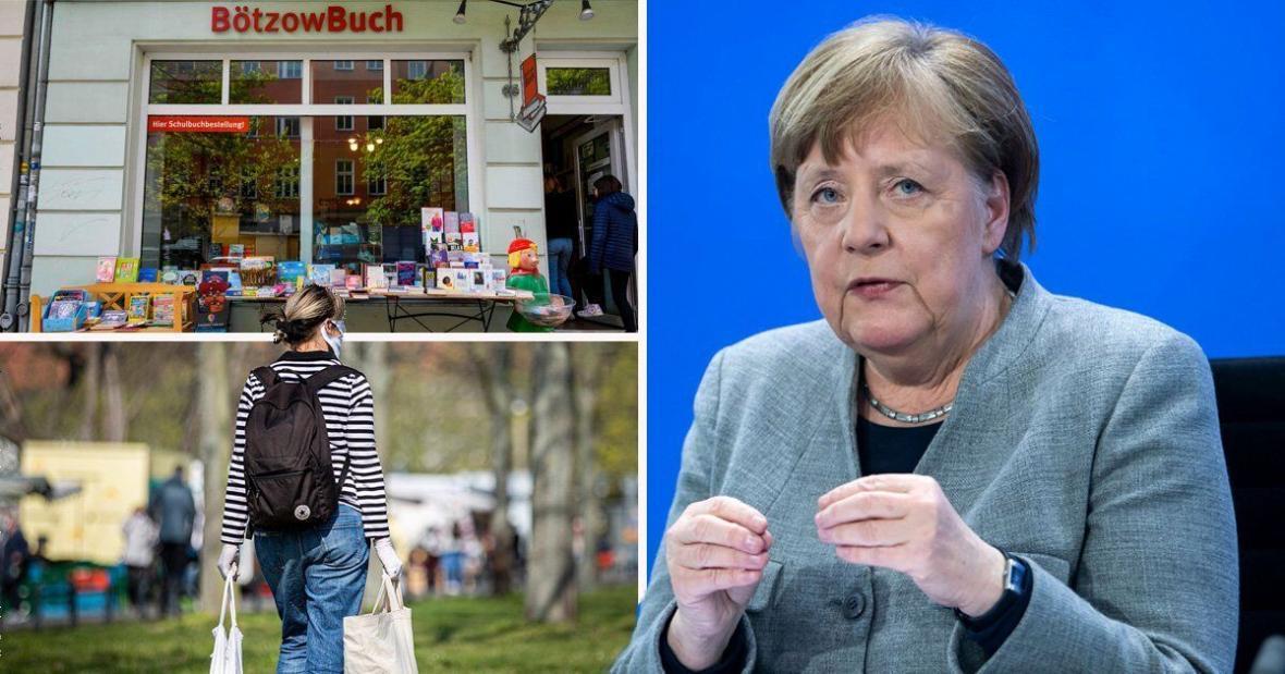خبرنگاران اولین گام آلمان به سوی دنیا پساکرونا