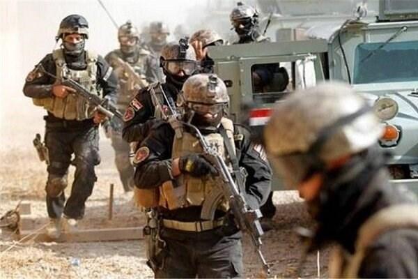عملیات ارتش عراق علیه تروریست ها در استان دیالی