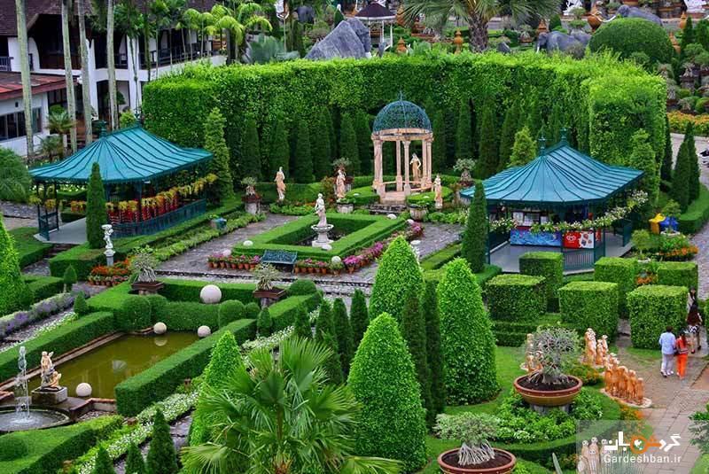 باغ نانگ نوچ پاتایا، یکی از ده باغ زیبای دنیا، عکس