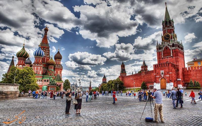 میدان سرخ مسکو، بزرگترین میدان روسیه