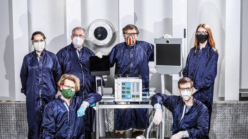 فراوری دستگاه تنفسی به دست ناسا