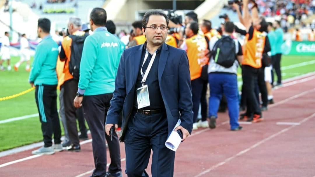 نامه سخنگوی فدراسیون فوتبال به جیانلوکا دی مارتزیو