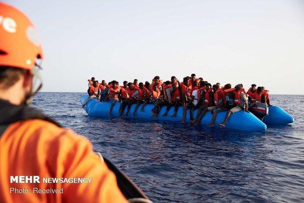 میزان ورود پناهجویان به ایتالیا 3 برابر شده است