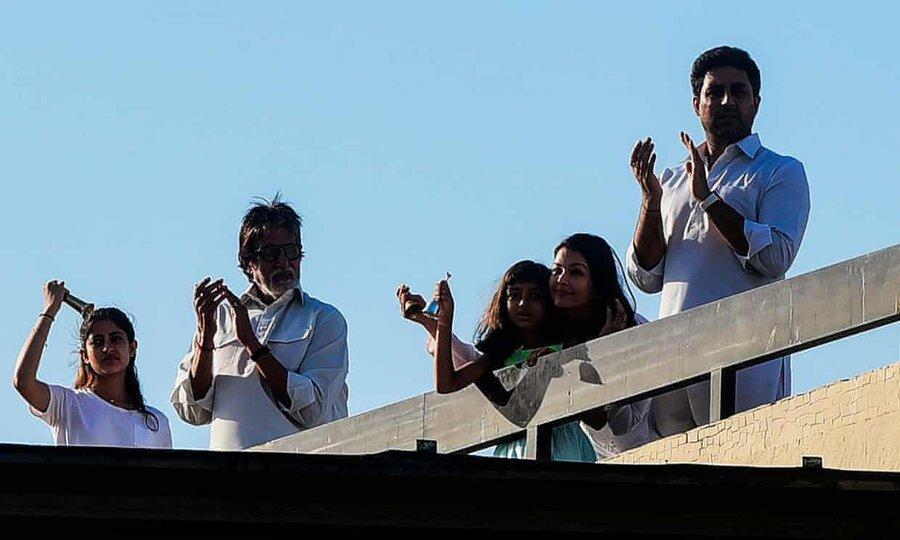 یک ستاره سینمایی دیگر هند کرونا گرفت ، آزمایش آیشواریا رای مثبت شد