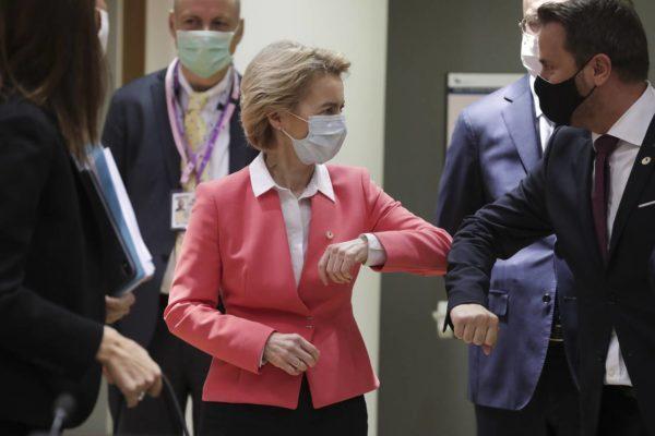 خوش وبش آرنجی در جلسه سران اروپا (