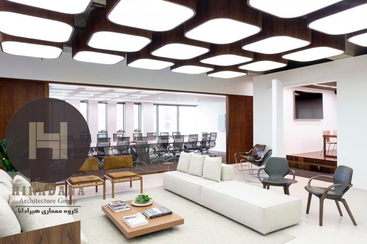 طراحی داخلی دفتر حقوقی وارده در کشور برزیل