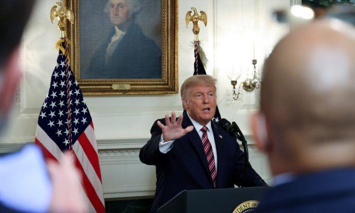 ترامپ به گمراه کردن افکار عمومی آمریکا اعتراف کرد