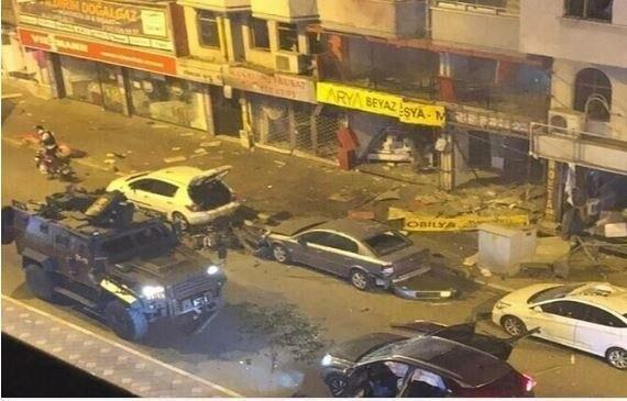 خبرنگاران انفجار مهیب جنوب ترکیه را لرزاند