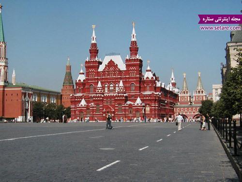 مهم ترین جاذبه های گردشگری مسکو