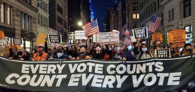 اعتراض های خیابانی در آمریکا از نیویورک آغاز شد