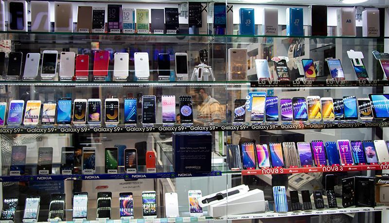 قیمت انواع گوشی امروز 15 آبان 99