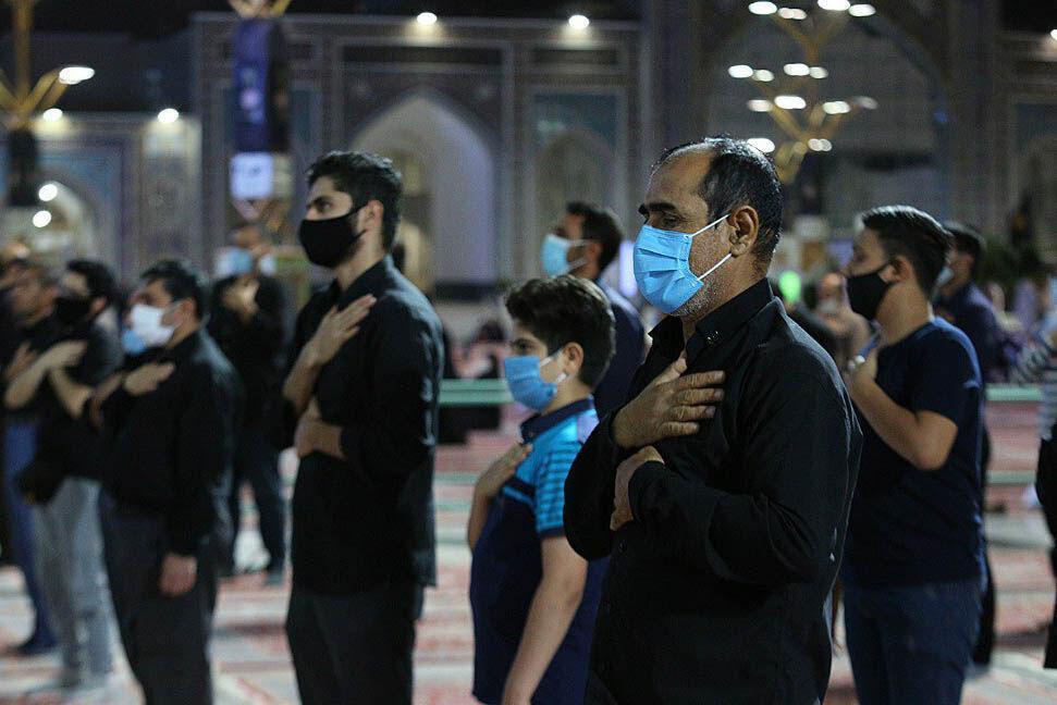 خبرنگاران سوز دل زائران در سوگ هشتمین خورشید