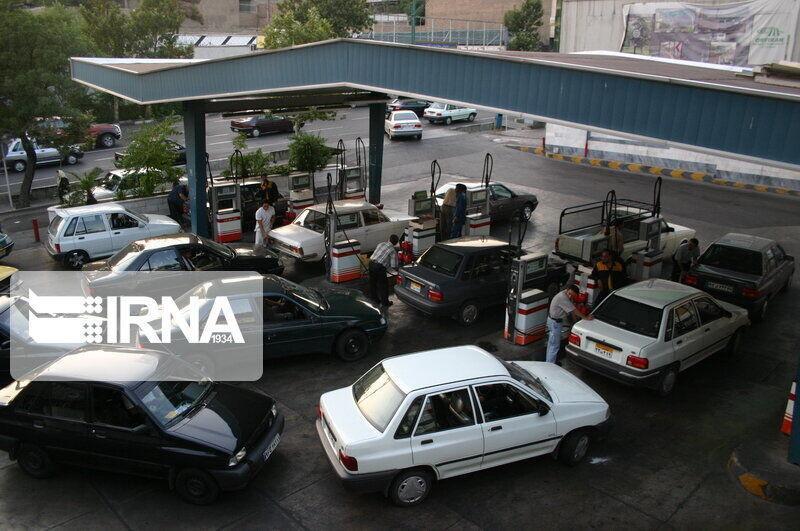 مصرف بنزین در روزهای خانه نشینی آب رفت