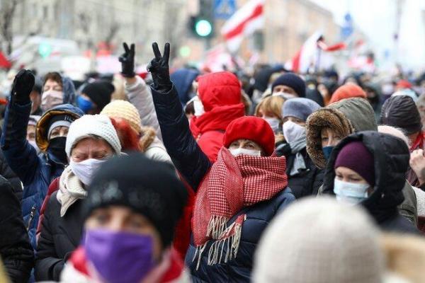 هجدهمین هفته از اعتراضات در بلاروس،بازداشت بیش از 300 معترض