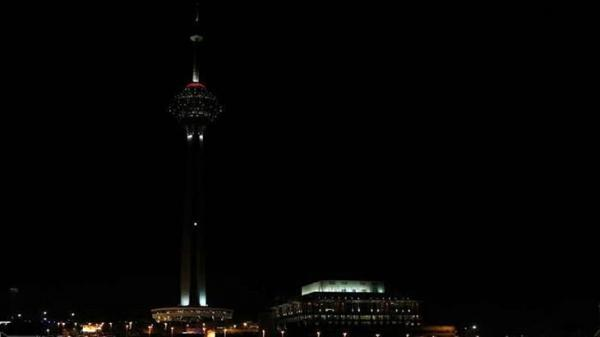 چراغ های برج میلاد همزمان با رویداد جهانی ساعت زمین خاموش می گردد