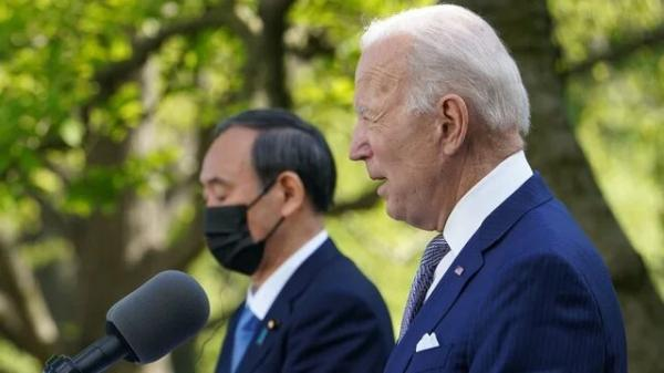 رایزنی بایدن و نخست وزیر ژاپن با تمرکز بر چین و کره شمالی