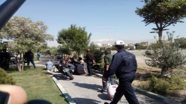 طرح جمع آوری کارتن خواب ها و معتادین متجاهر در تهران اجرا شد