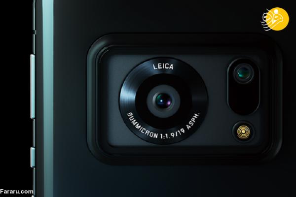 (تصاویر) اولین گوشی مجهز به دوربین یک اینچی جهان؛ رونمایی شارپ از Sharp Aquos R6