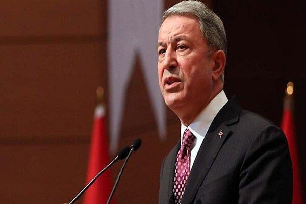 وزیر دفاع ترکیه با همتای آمریکایی خود مصاحبه می نماید