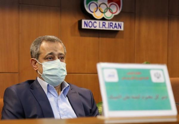 سعیدی: برای حل مسائل با رئیس فدراسیون کاراته جلسه داشتیم، حدادی هر موقع بتواند در تمرین حاضر می گردد