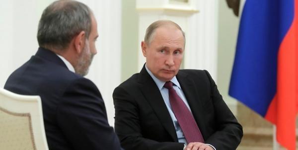 ادعای رسانه ای؛ پوتین جواب تلفن نخست وزیر ارمنستان را نمی دهد