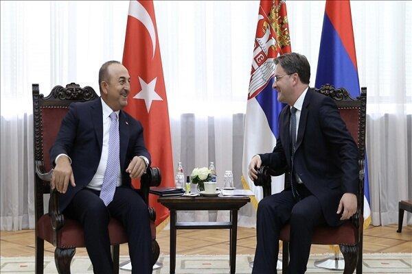 چاووش اوغلو با رئیس جمهور صربستان دیدار کرد